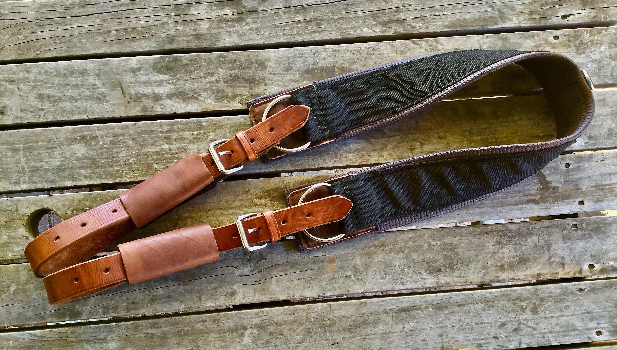 Western Stock Saddle Girth Draft Horse Size Jentina Leather Creations
